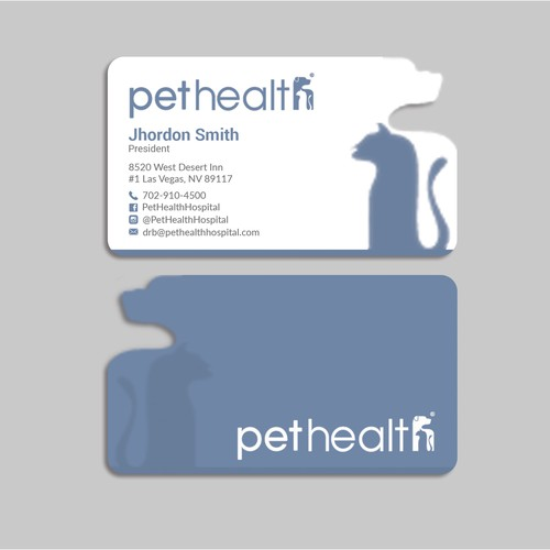 Pet Health Business Cards