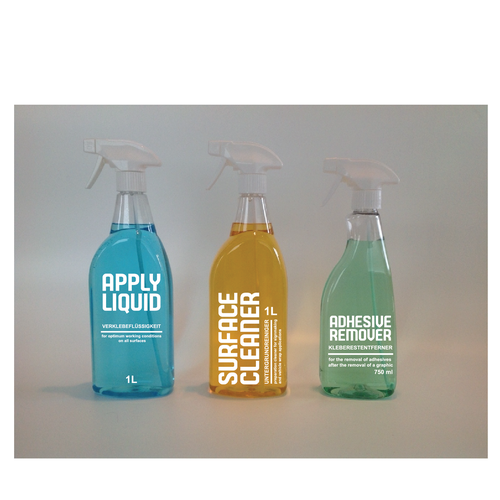 labels for spray bottles