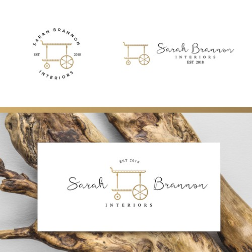Logo concept for an interior design business