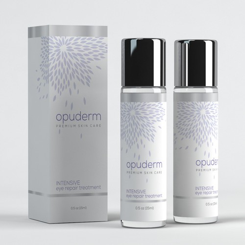 Opuderm Skin Care Packaging Design