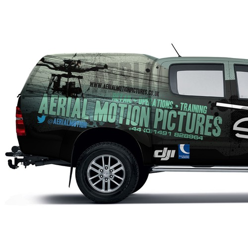Grunge wrap for aerial motion pictures