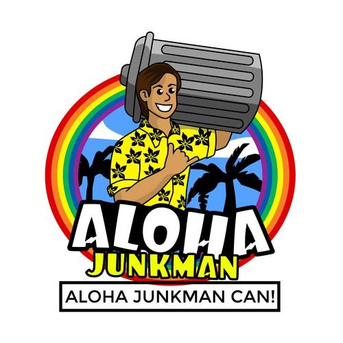 Design logo/character junkman