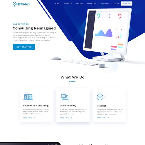 Software Consulting Agency Website