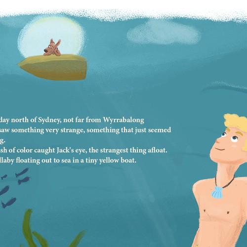 Merman Story concept