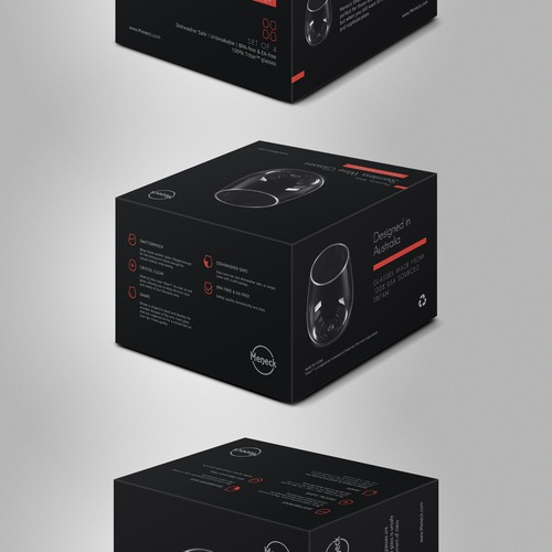 Box package concept for Meneck