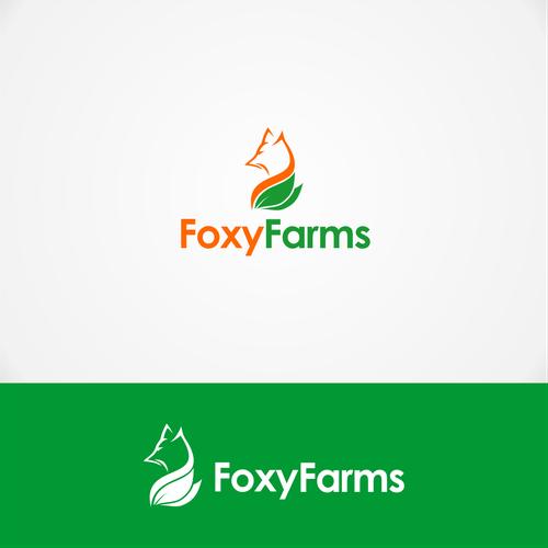 """Logo """"FoxyFarms"""""""