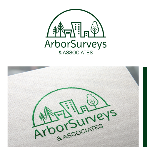 Logo for a tree consulting company