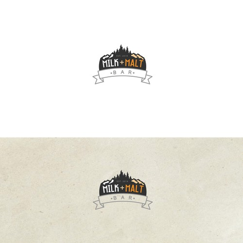 Milk and Malt Bar sample logo
