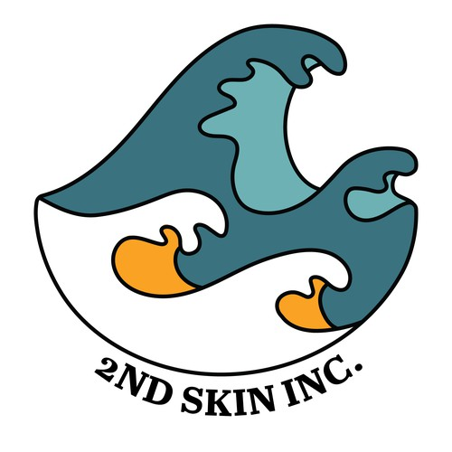 Vibrant/Simple Concept Logo for a Wetsuit Brand