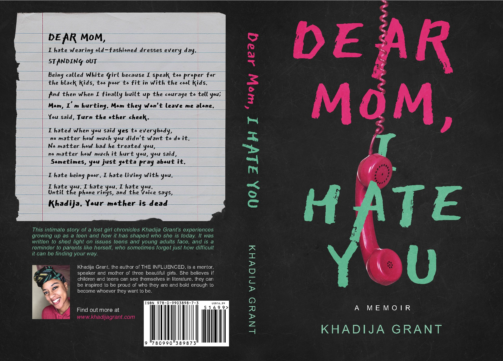 IMAGINATION NEEDED for a Young Adult Memoir!