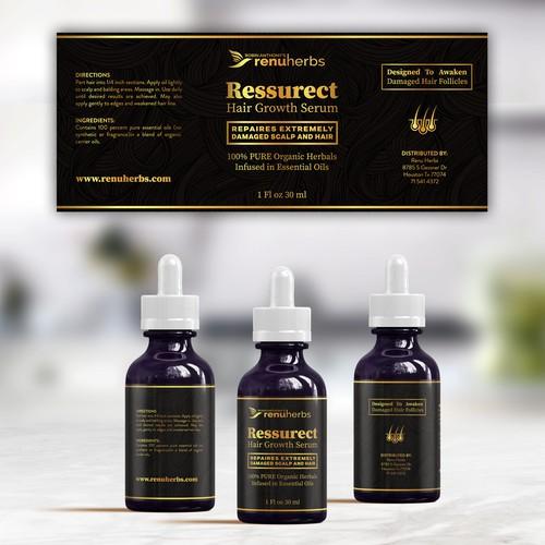 Ressurect Label design