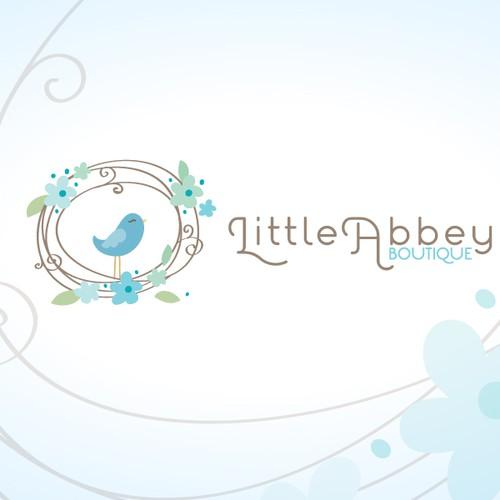 logo for Little Abbey Boutique