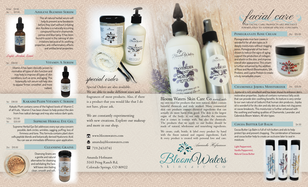 Bloom Water Products Brochure