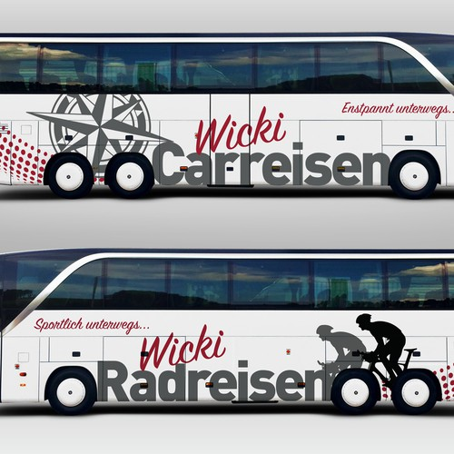 Bus Wrap Decals