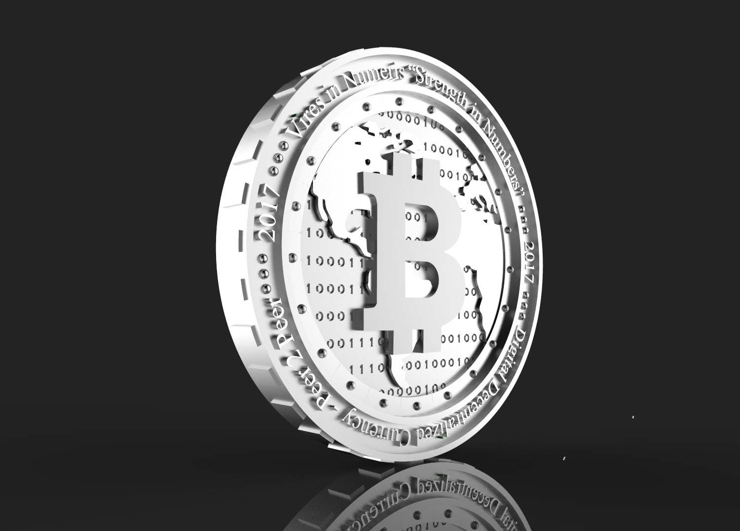 Design an Actual Physical Bitcoin Coin!