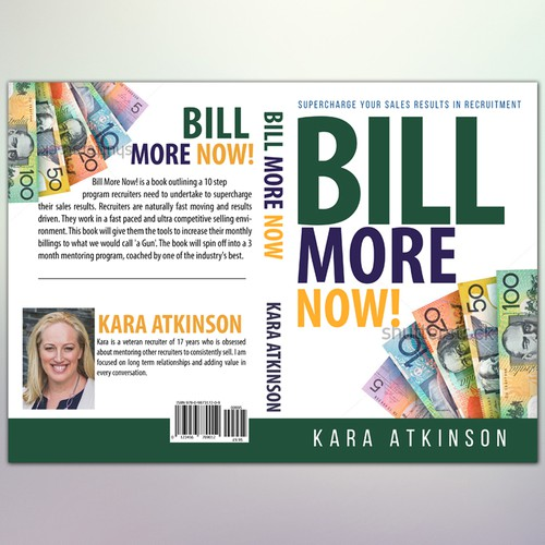 """Book Cover Concept for """" Bill More Now"""""""