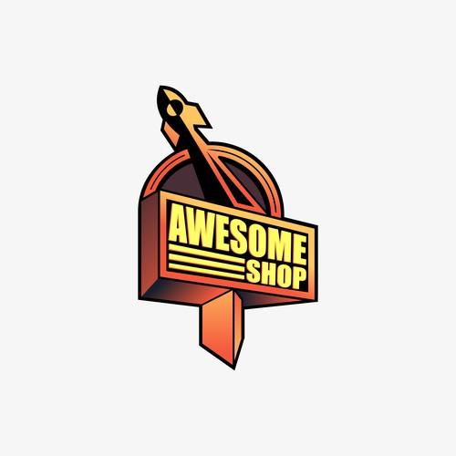 Awesome Design Logo Concept