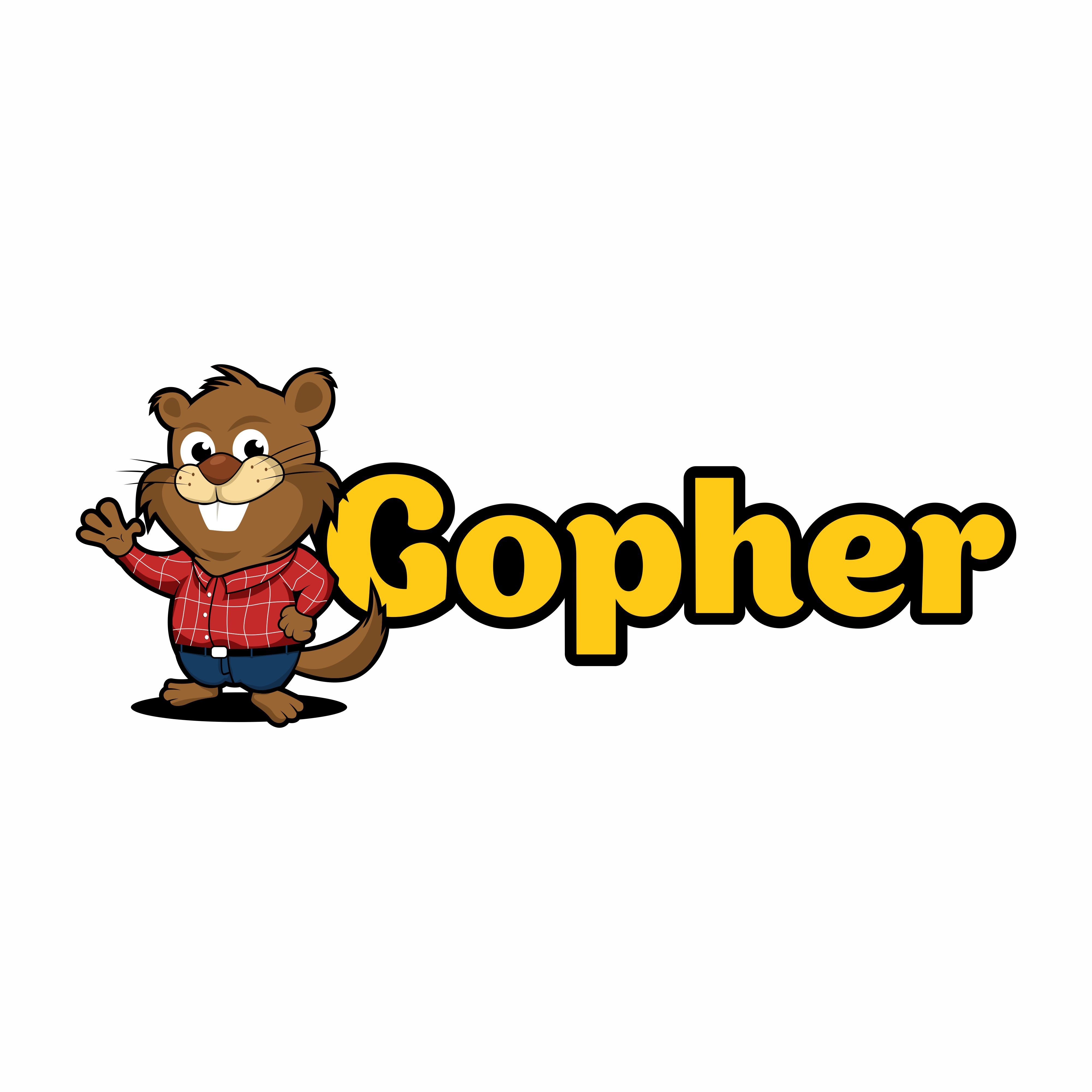Gopher Convenience Store Chain Logo