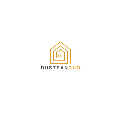 A logo for a cleaning & maintenance company