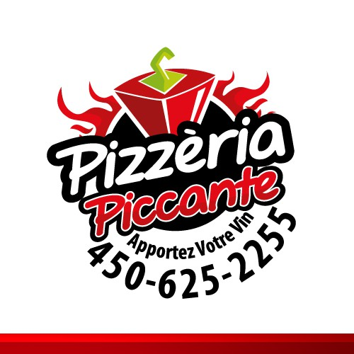 Create the next logo for Pizzeria Piccante