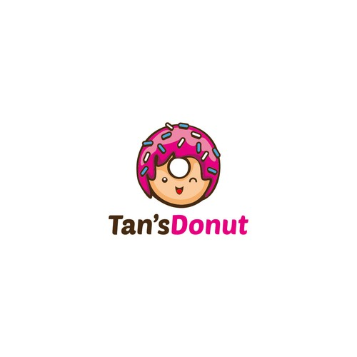 the Tan's Donut logo