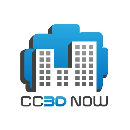 CC3D NOW Logo Design