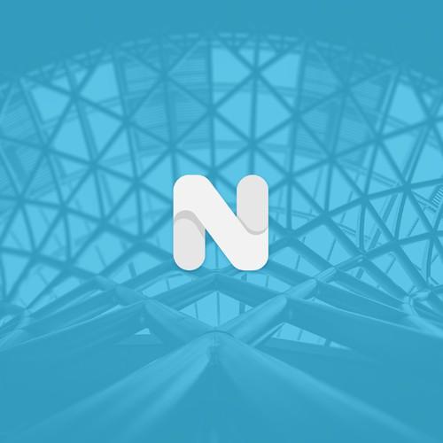 Minimal lettermak logo