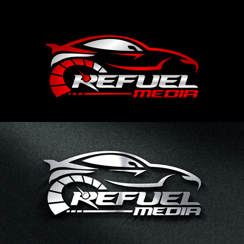 Modern automotive industry logo design