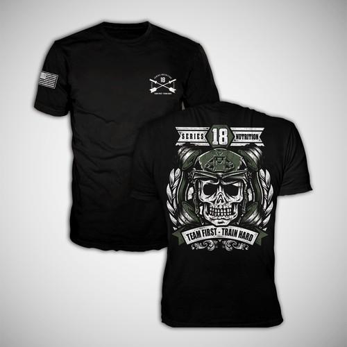 supplement brand tshirt