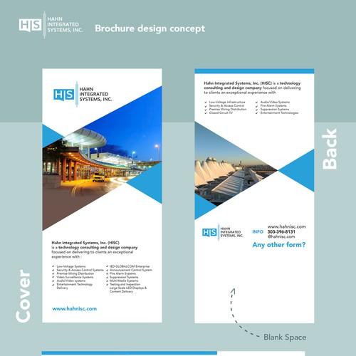 HIS Brochure Design