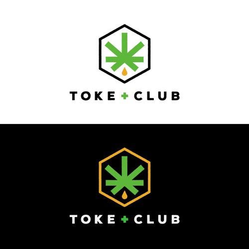 Logo concept for Toke Club