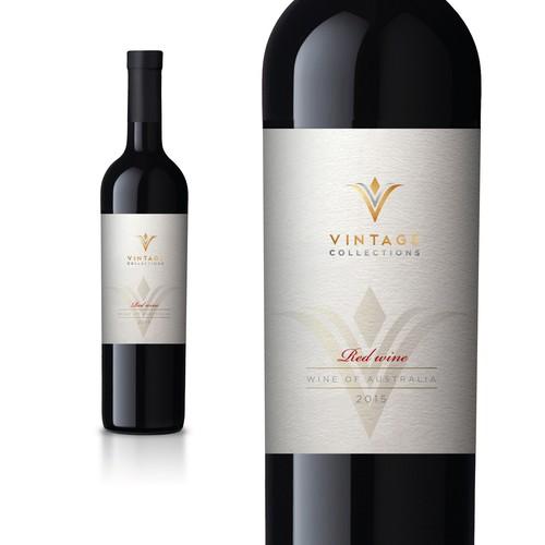 VINTAGE COLLETIONS wine label