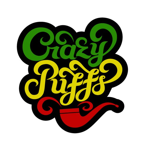 Logo for Crazy Puffs