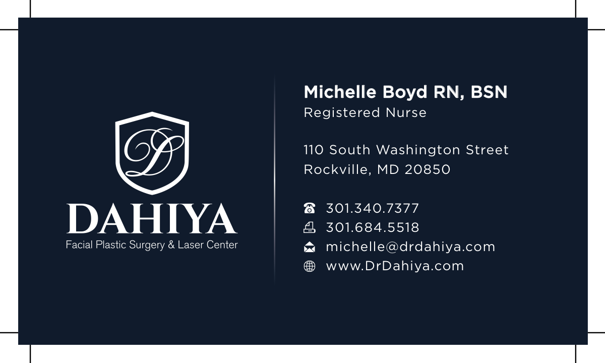 Revised business cards