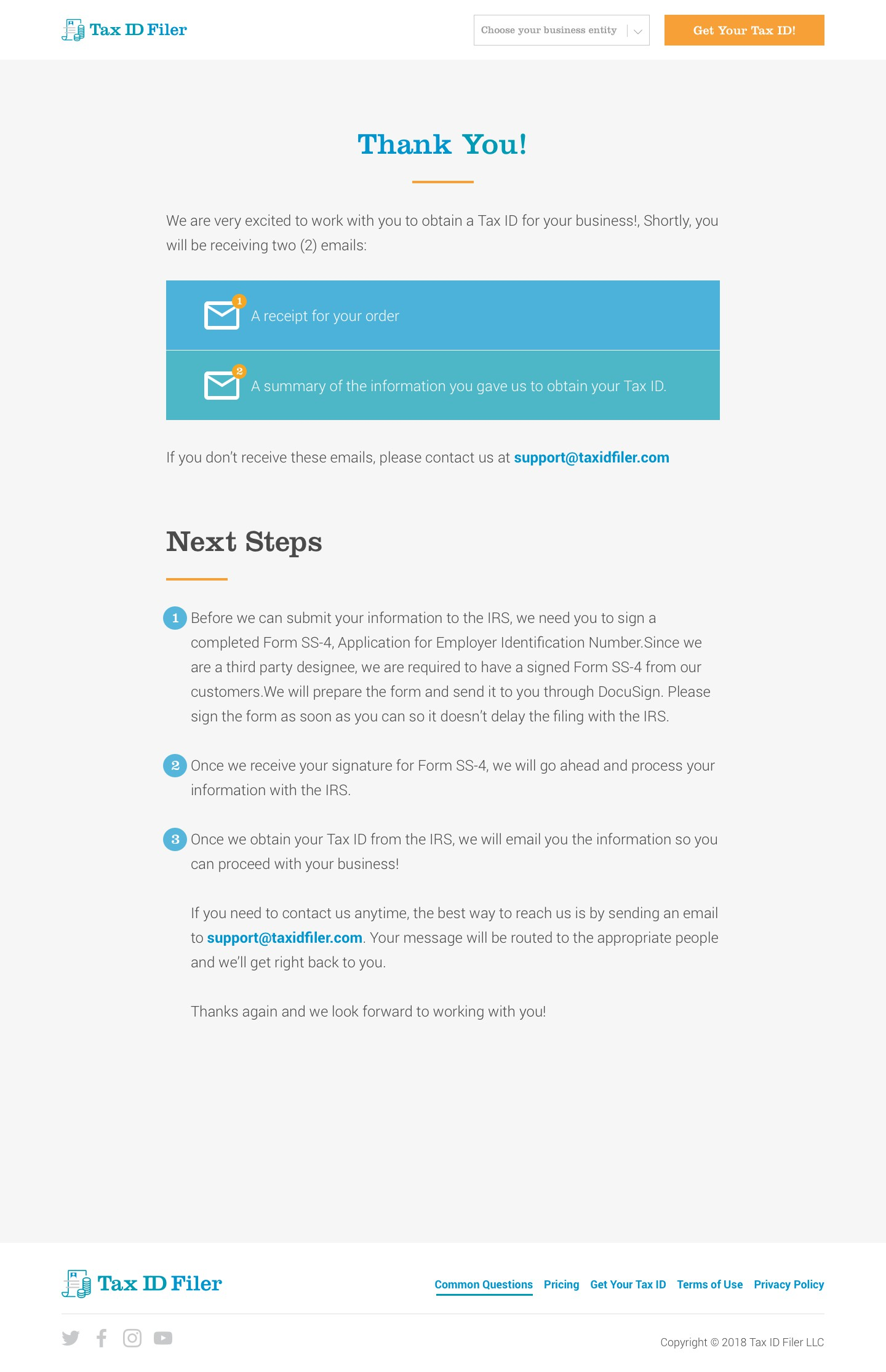 Designs for 3 additional webpages