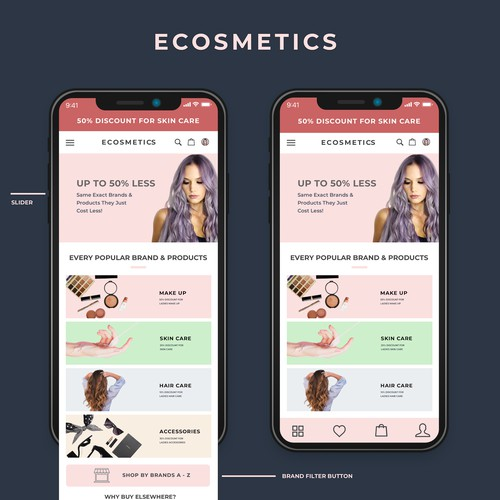 cosmetic shop apps
