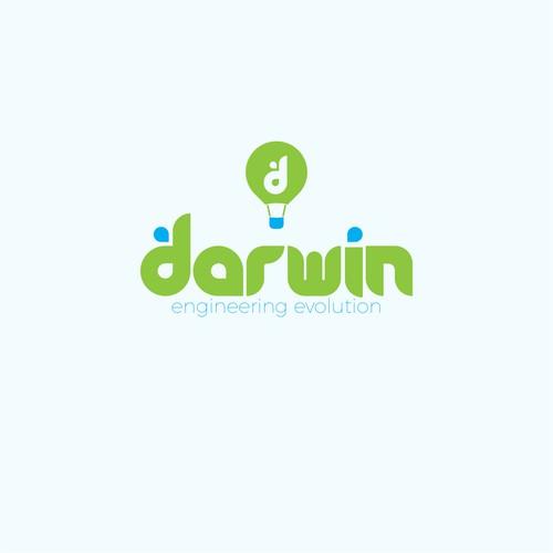Icon Logo Branding Concept for Darwin Engineering Evolution