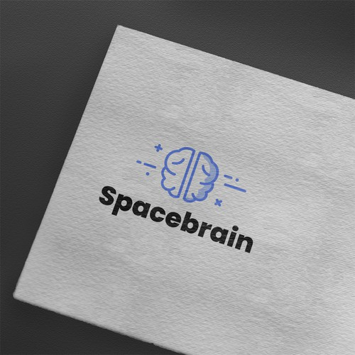 spacebrain.io Logo design