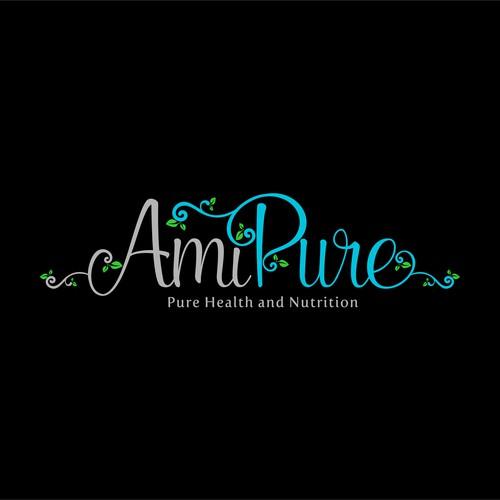 AmiPure logo design