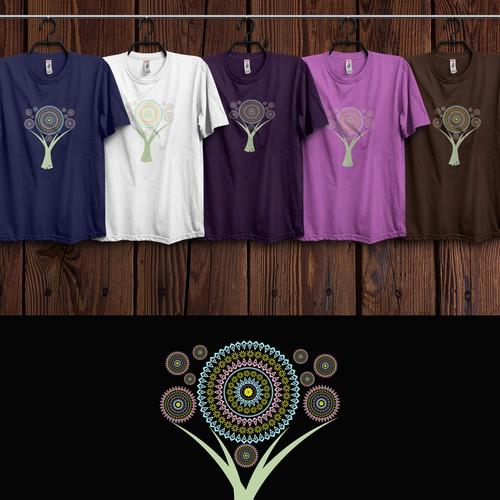 Ornament Design illustrating the greatness of the universum