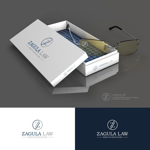 Create a sophisticated logo for a small real estate/estate planning law firm