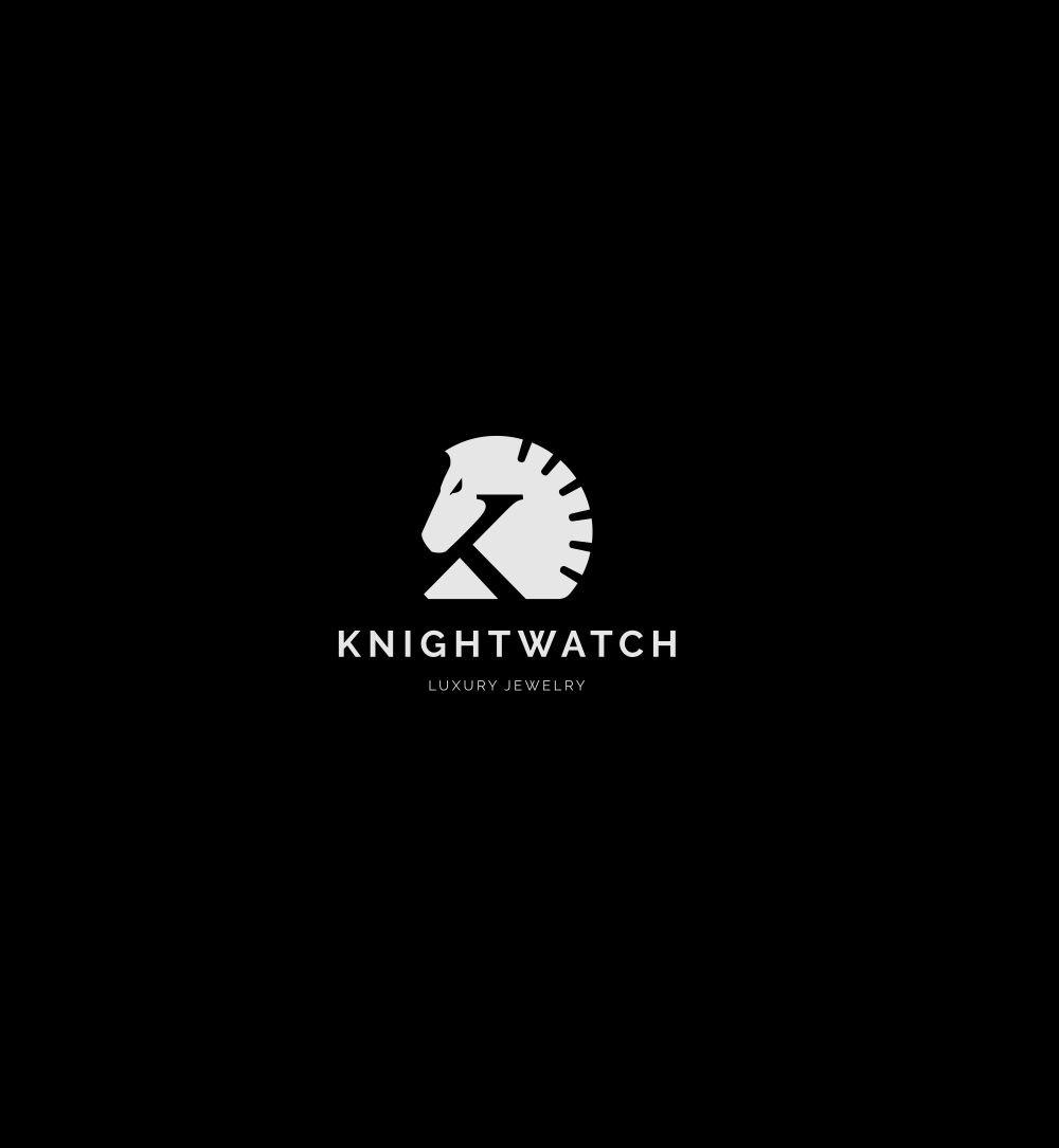 Create a badass logo/website for KnightWatch's luxury jewelry