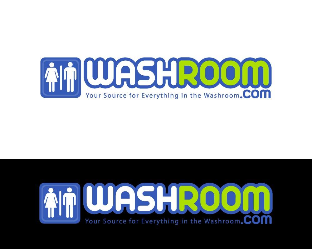 Help Logo for Washroom.com - public restroom supplies with a new logo