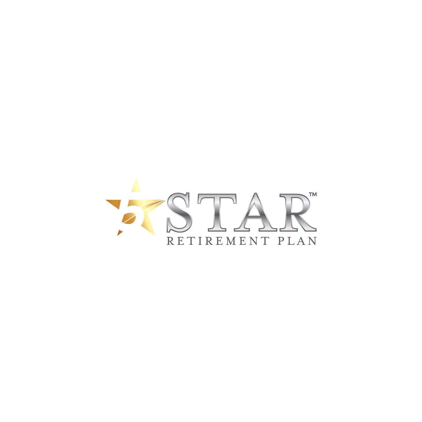 Create a power logo for 5 Star Retirement Plan