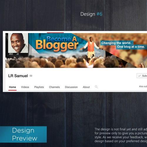 Youtube Cover for BeABlogger.com