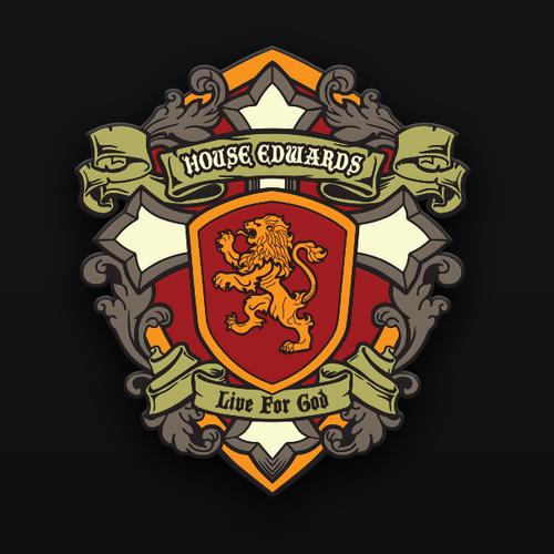 heraldic crest for house edwards