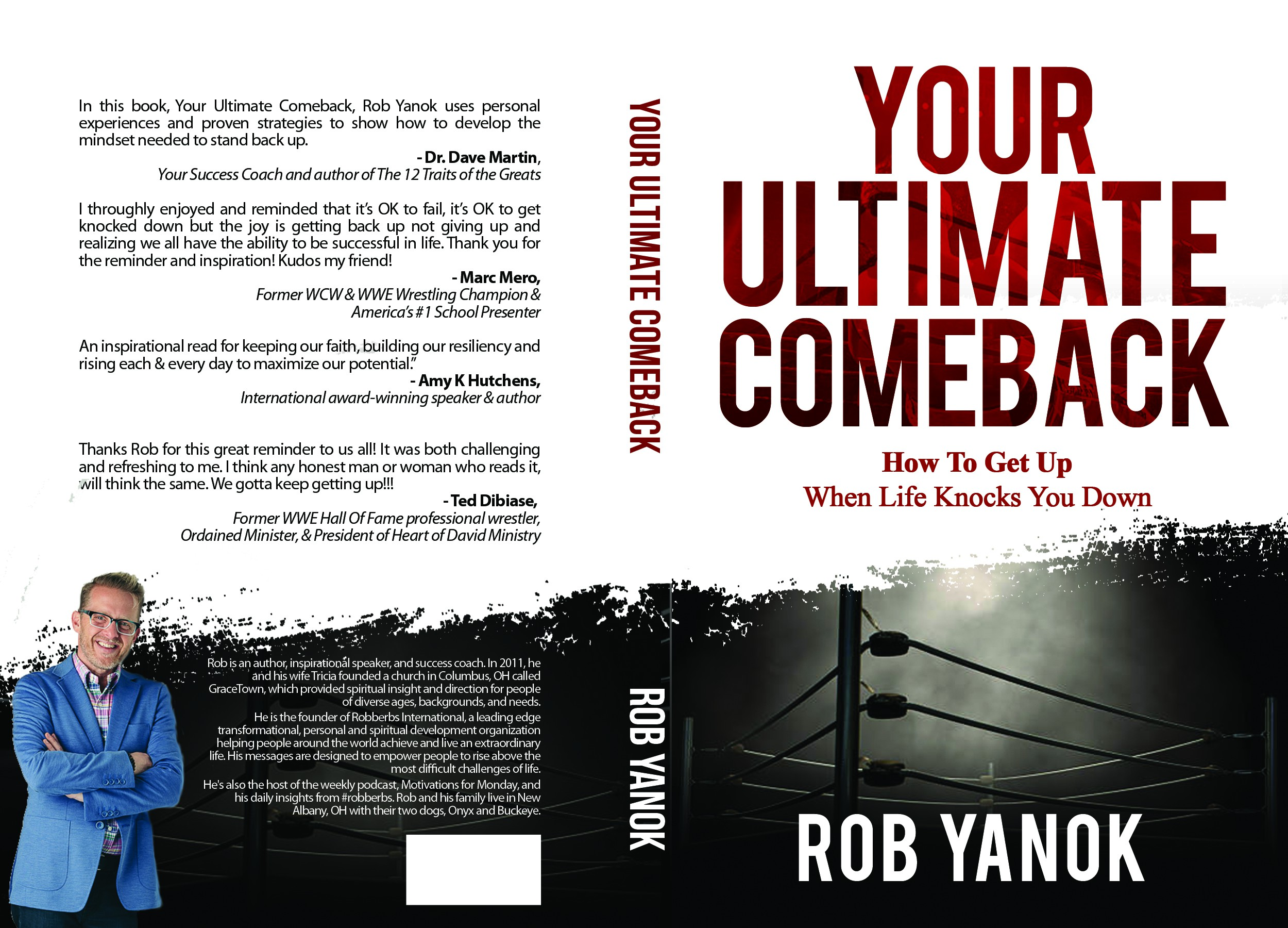 Design a book cover for a best selling book endorsed by many athletes and celebrities