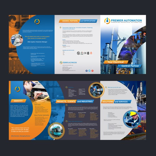 Innovative brochure for Industrial leader