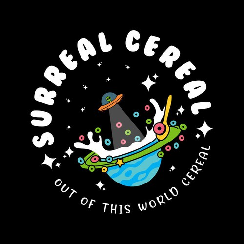 SURREAL CEREAL- LOGO CREATION