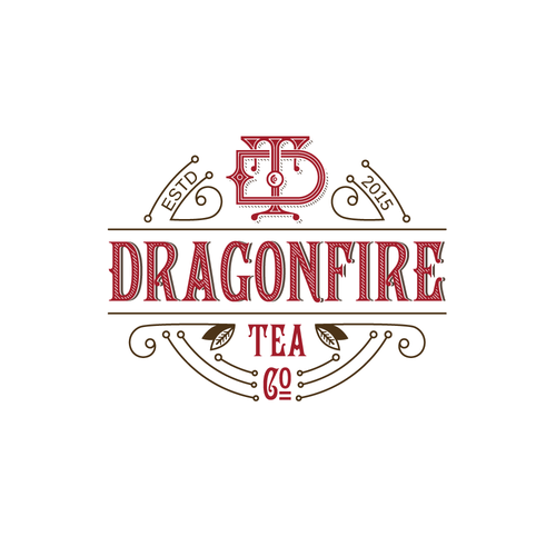 Luxury logo for tea company